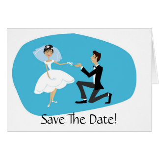 Save the Date Card Wedding Accessory