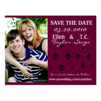 Save The Date Cards Postcard