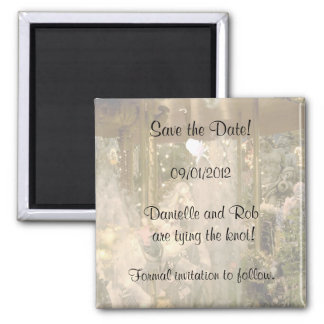 Save the Date Carousel Magnet