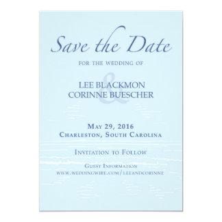 Save the Date Charleston 5x7 Paper Invitation Card