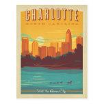 Save the Date - Charlotte, NC Postcard