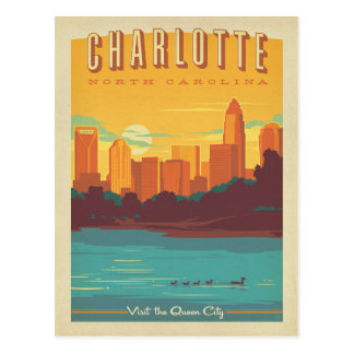 Save the Date - Charlotte, NC Postcard