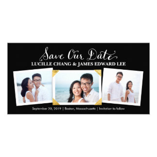 Save the Date | Cherished Snapshots Photocard Card