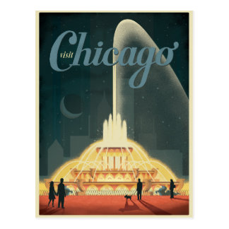 Save the Date   Chicago, IL - Visit Chicago Postcard