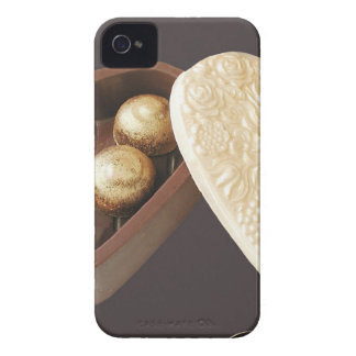 Save The Date Chocolate Hearts iPhone 4 Cover
