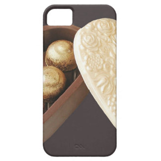 Save The Date Chocolate Hearts iPhone SE/5/5s Case