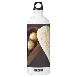 Save The Date Chocolate Hearts SIGG Traveler 1.0L Water Bottle