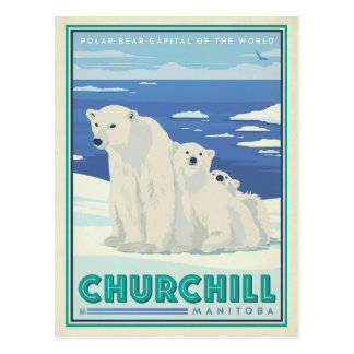 Save the Date | Churchill, Manitoba Postcard