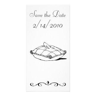 Save the Date Cinderella Slipper Fairytale Art Card