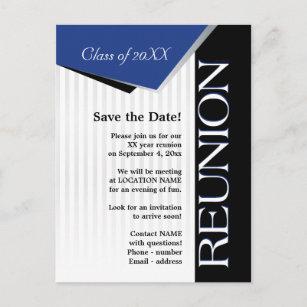 Class reunion invitations zazzle save the date class reunion announcement postcard stopboris Gallery