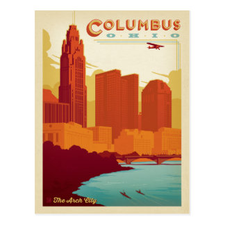 Save the Date | Columbus, OH Postcard