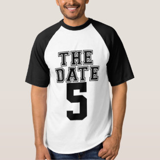 Save the date couple matching t-shirt
