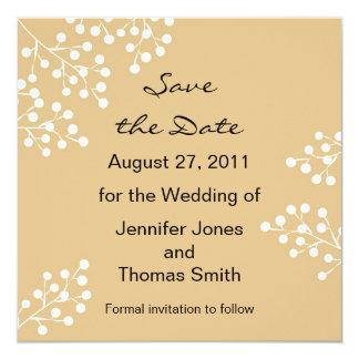 Save the Date Custom Invitations