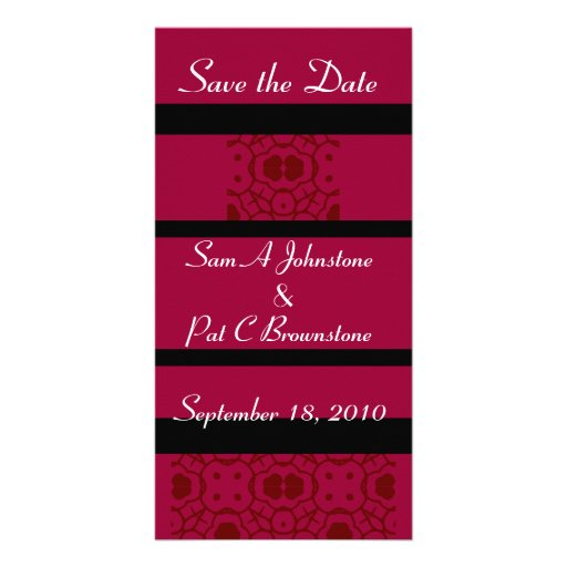 Save the Date Custom Photo Card