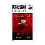 Save the Date Custom Wedding Postage