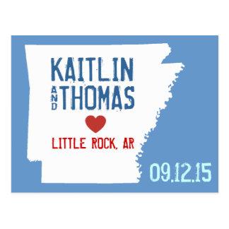 Save the Date - Customizable - Arkansas Postcard
