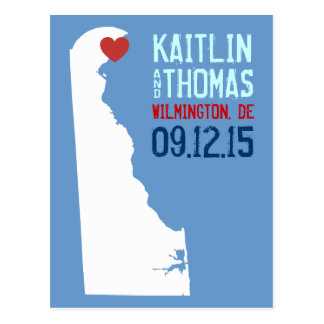 Save the Date - Customizable - Delaware Postcard