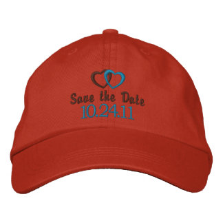 Save the Date Customizable Embroidered Baseball Cap