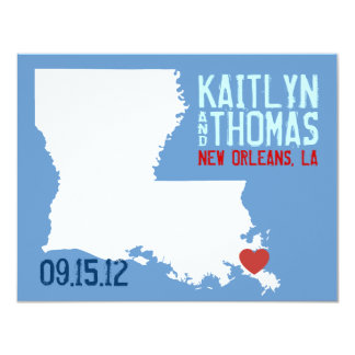 Save the Date - Customizable - Louisiana Invitations