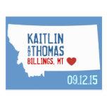 Save the Date - Customizable - Montana Postcard