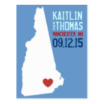Save the Date - Customizable - New Hampshire Post Cards