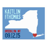 Save the Date - Customizable - New York Post Cards