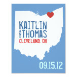 Save the Date - Customizable - Ohio Personalized Invitations