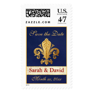 Save the Date Customizable Postage