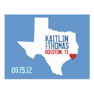 Save the Date - Customizable - Texas Post Cards