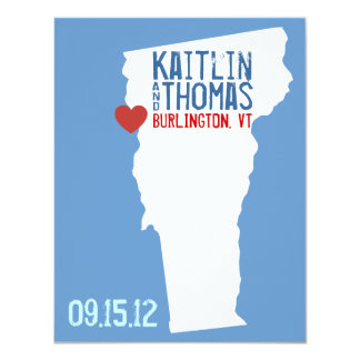 Save the Date - Customizable - Vermont Card