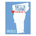 Save the Date - Customizable - Vermont 4.25x5.5 Paper Invitation Card