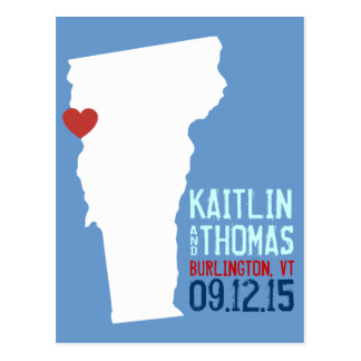 Save the Date - Customizable - Vermont Postcards