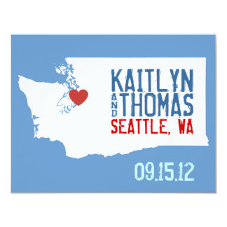Save the Date - Customizable - Washington Invite