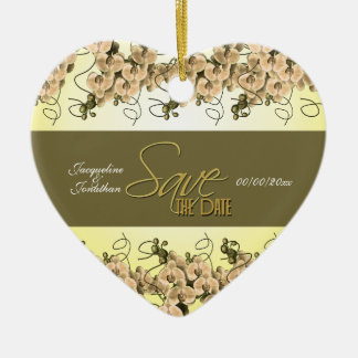 save the date CUSTOMIZE Christmas Tree Ornaments