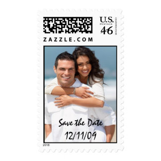 Save the Date - Customized Postage