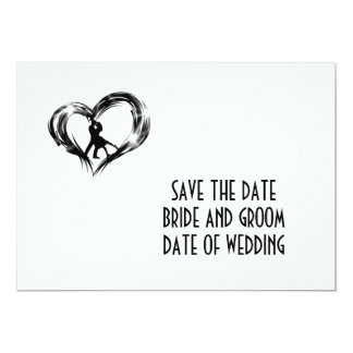 SAVE THE DATE DANCER SERIES CARD