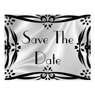 Save The Date Decorative Postcards