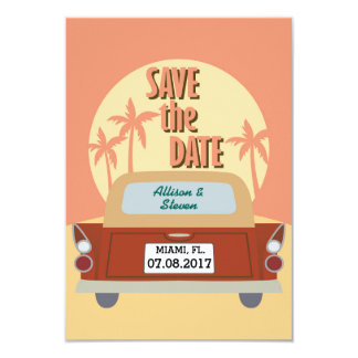 Save the Date design Card
