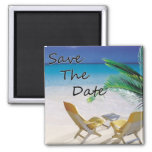 Save The Date Destination Wedding Magnets