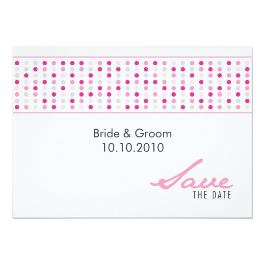Save The Date - Dots Card