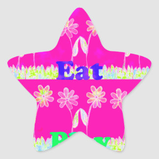 Save the date Eat Love and PLay.png Star Sticker