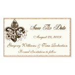 Save the Date enclosure card template Business Card Templates
