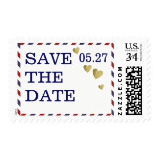 save-the-date envelope/ special day postage