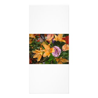 Save-the-Date/Fall Wedding Bouquet Rack Card