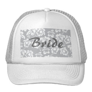 Save the Date/Fall Wedding Flowers Trucker Hat
