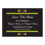 Save The Date Fiesta Mexican Wedding Invites