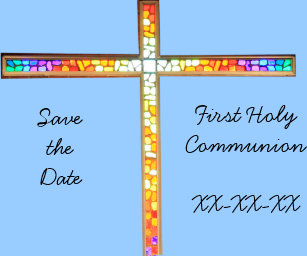 Communion Save The Date Cards Zazzle