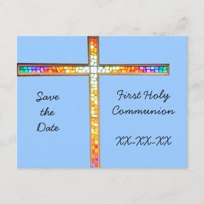 Save The Date Communion Invitation Zazzle Com