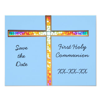 Save the Date - First Holy Communion (boy)- invite