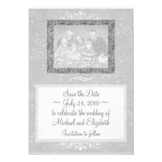 'Save the Date' Floral Invitation